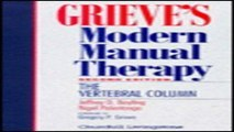 Download Grieve s Modern Manual Therapy  The Vertebral Column  2e