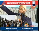 Asaduddin Owaisi's interview by Jitendra Dixit, ABP News - video