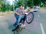 Bike One Wheeling in Pakistan - Bike Wheelers Group