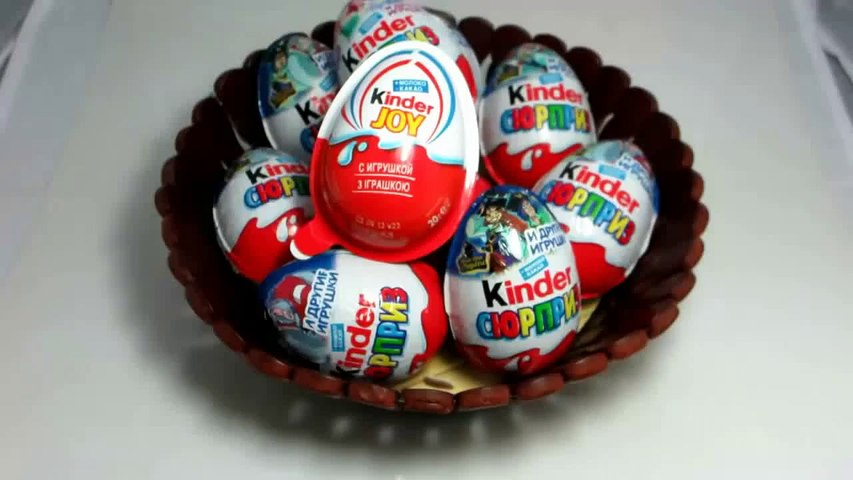 Kinder Joy - Surprise Eggs Unboxing. Киндер Joy яйцо с сюрпризом - 1 �