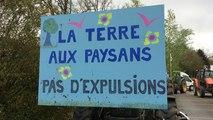 Manifestation contre l'aéroport de Notre Dame des Landes