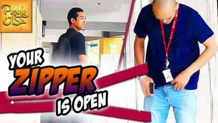 Your Zipper Is Open | Prank Asia