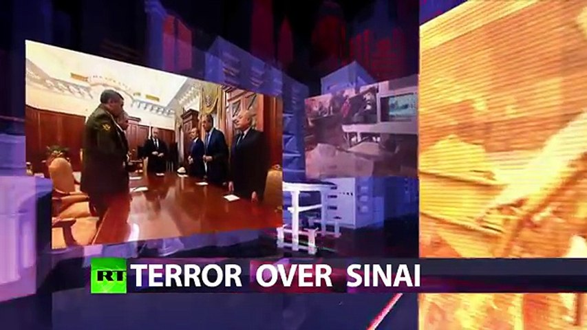 CrossTalk Peter Lavelle discusses ISIS terrorist attack over Sinai with RI Alexander Mercouris