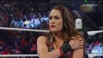 720pHD WWE RAW 02/29/16 Naomi vs Brie Bella ( Lana dishonor Brie Bella backstage )