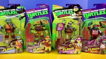 Teenage Mutant Ninja Turtles Flingers Raph Leo Mikey Donnie TMNT Battle Shredder