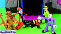 Imaginext Robo Batcave with Batman Robin Joker Harley Quinn Riddler Scarecrow - Once Upon A Toy (Comic FULL HD 720P)
