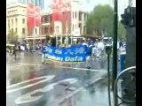 Falun Dafa (Falun Gong) Demo in Melbourne