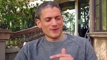 Wentworth Miller talks about new Prison Break