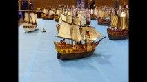 Le Portel : la plage et le fort de l'Heurt reconstitués en Playmobil