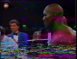 EVANDER HOLYFIELD VS. RAY MERCER - Boxing Fight Fighting MMA Mixed Martial Arts Sports Match
