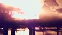 Incêndio na CSN deixa quatro feridos