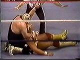 WWE WRESTLING - HULK HOGAN'S FIRST TITLE DEFENSE - WWF WWE Wrestling - Sports MMA Mixed Martial Arts Entertainment