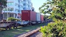 Trenes de Carga en Buenos Aires - Freight Train on Buenos Aires - Argentina (HD)