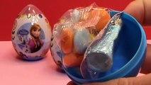 Frozen plastic surprise eggs toys Zaini unboxing Huevos sorpresa congelados juguetes