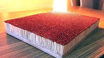This Is What Happens When You Light 6,000 Matches On Fire At Once