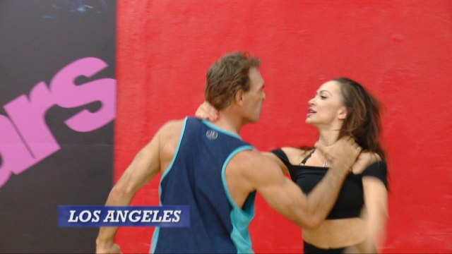 Doug Flutie And Karina Smirnoff Get Heated