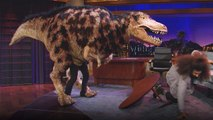 Dinosaur Tony Rexton Attacks Reggie Watts