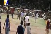 shootining volley ball show match (wali ball) sports updates