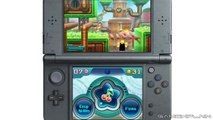 Kirby: Planet Robobot - Grass Level & Clanky Woods Boss Fight Gameplay (3DS Direct Feed)