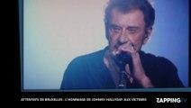 Attentats de Bruxelles : L'hommage émouvant de Johnny Hallyday aux victimes (vidéo)