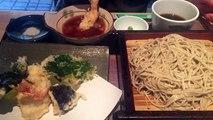 Zaru Soba (Buckwheat) Noodles + Tempura Set! Delicious! ざるそばと天ぷらぷ!-copypasteads.com