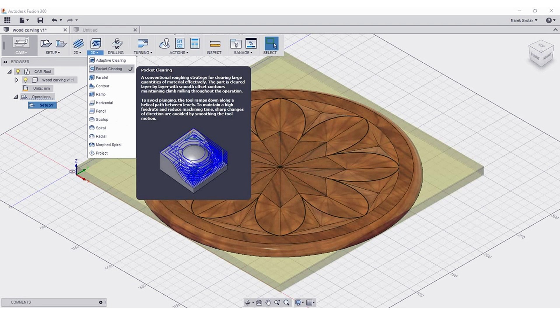 Fusion 360 to wood wop