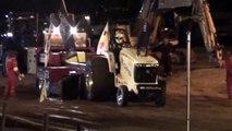 Tractorpulling Great Eccleston 2010 : Incredible Deere Finale Run Eurocup 2e plaats