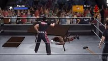 WWE Smackdown Vs Raw 2008 ECW Two Flaming Tables