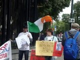 Demo against Western Policy in Ukraine, US Embassy, 16th Aug. '14