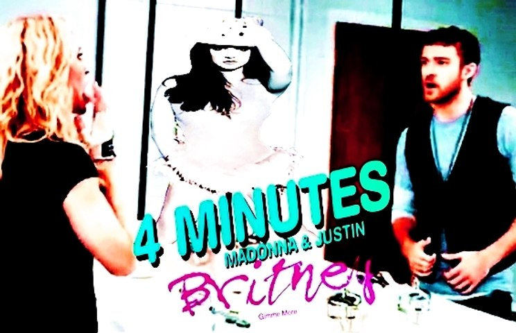 Madonna VS. Britney Spears - Gimme 4 More Minutes (Featuring Justin Timberlake And Timbaland) [OFFICIAL MUSIC VIDEO]