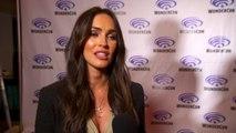 TMNT Star Megan Fox Chatting And Looking Sexy At Wondercon