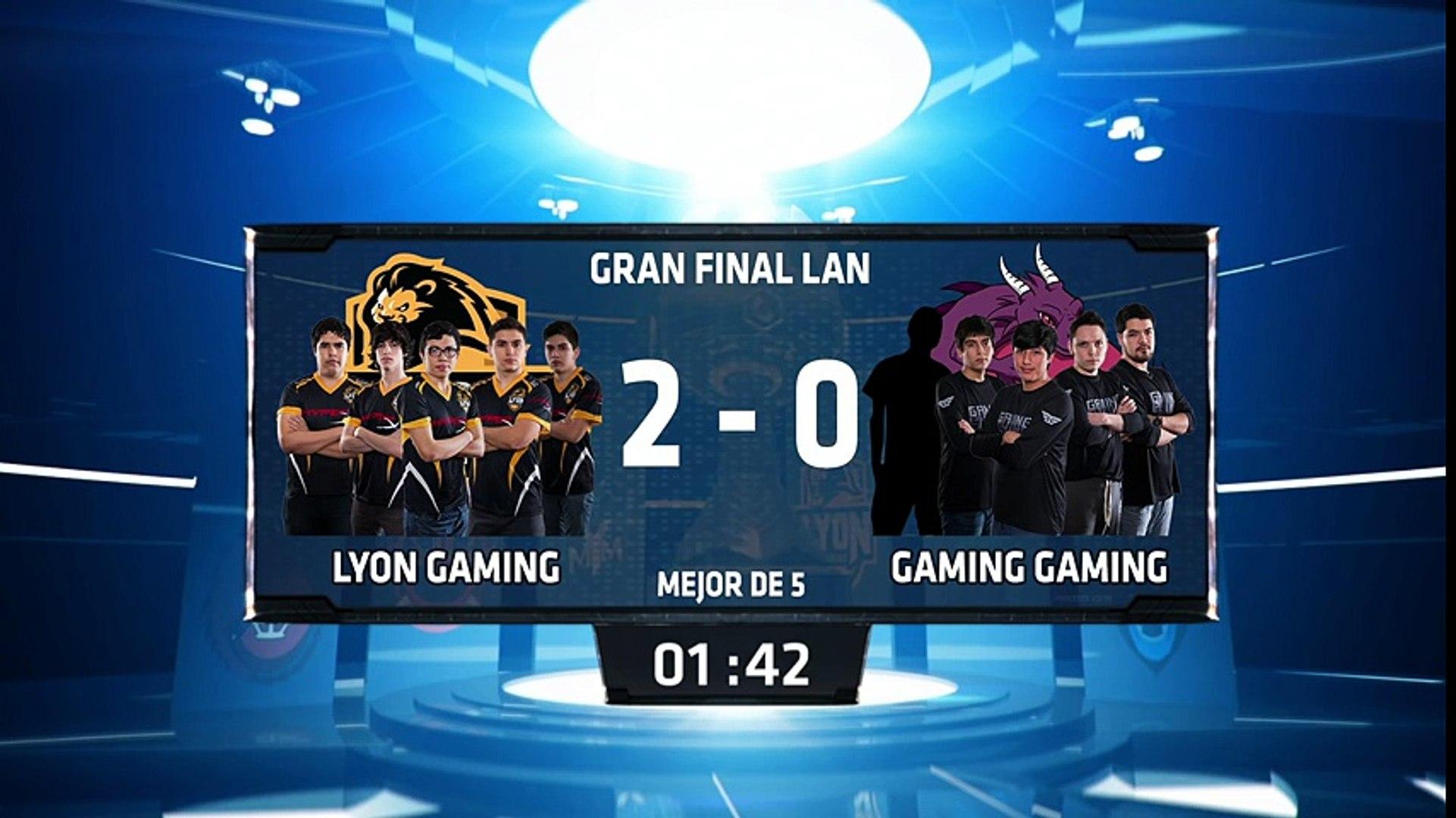 Lyon Gaming vs Gaming Gaming - La Final 60