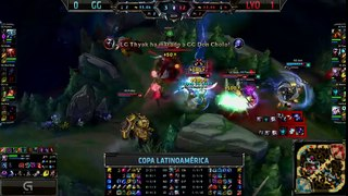 Lyon Gaming vs Gaming Gaming - La Final 71