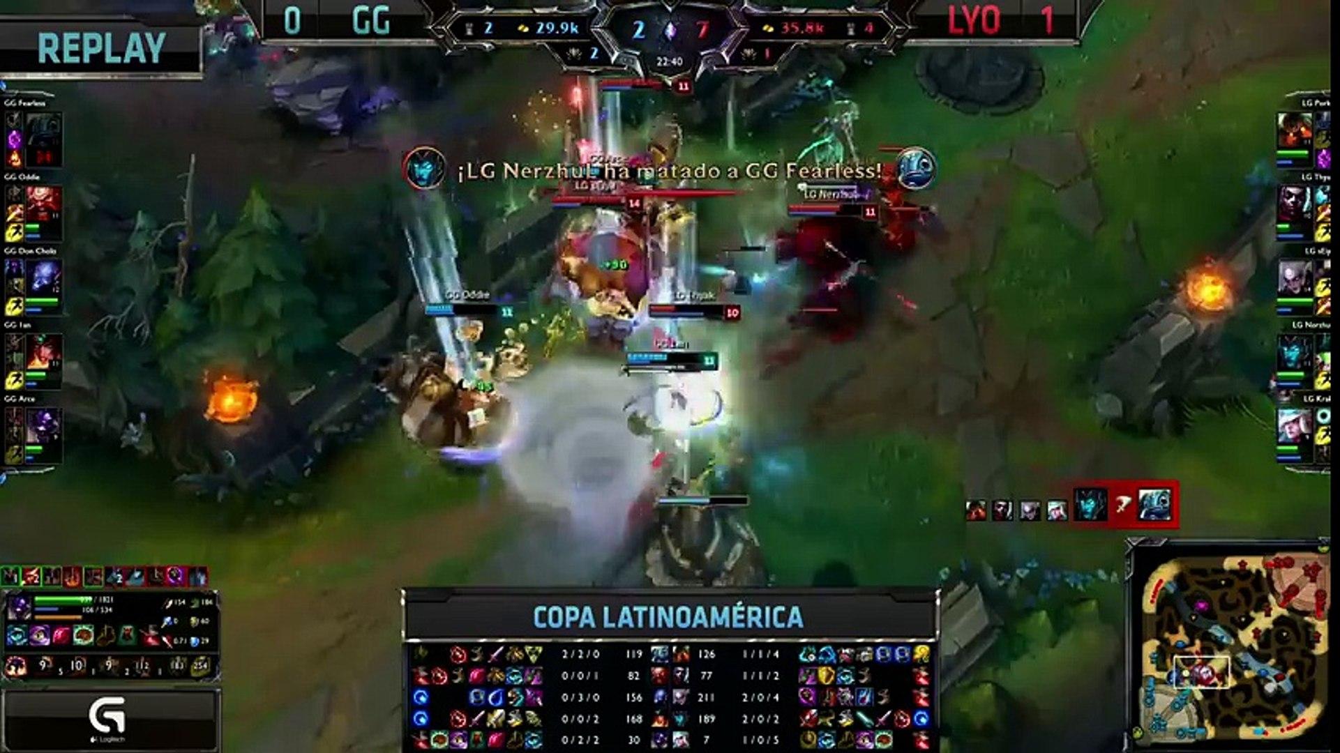 Lyon Gaming vs Gaming Gaming - La Final 73