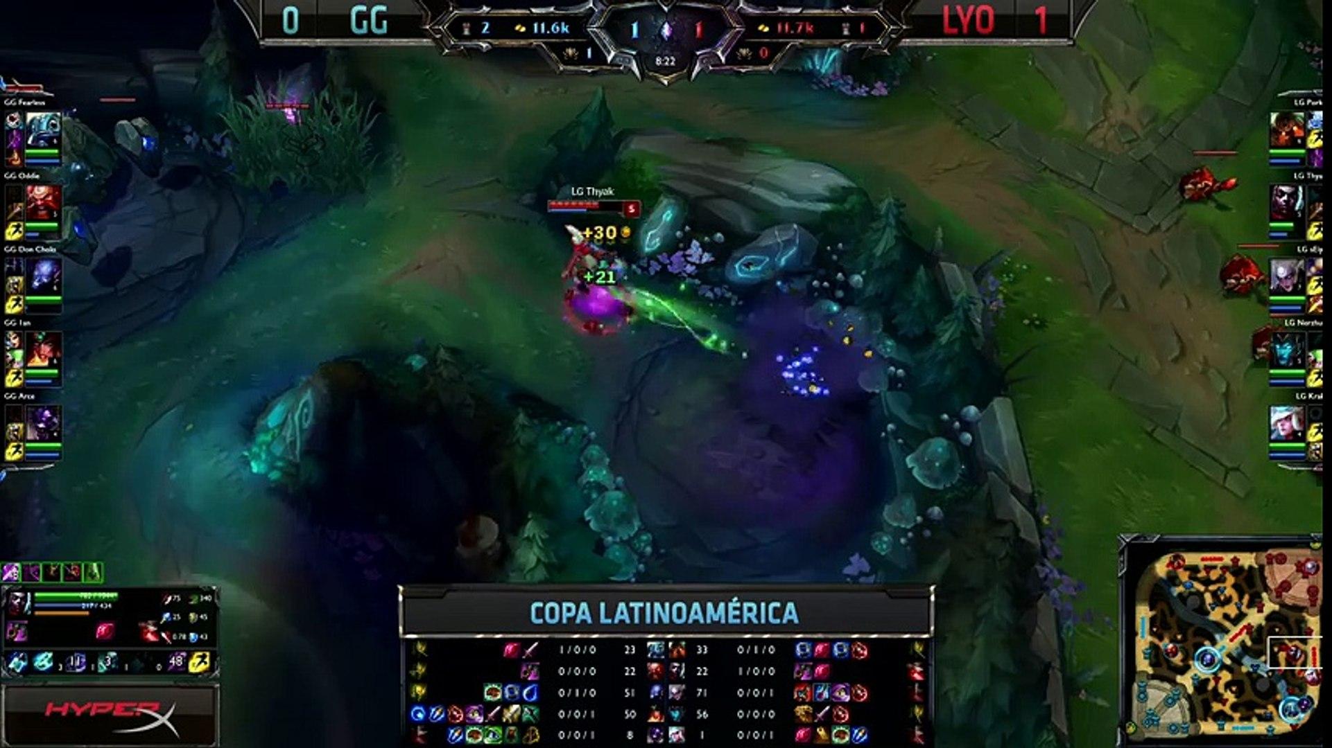 Lyon Gaming vs Gaming Gaming - La Final 88