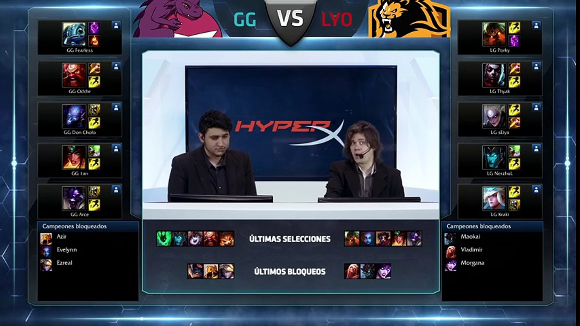 Lyon Gaming vs Gaming Gaming - La Final 99