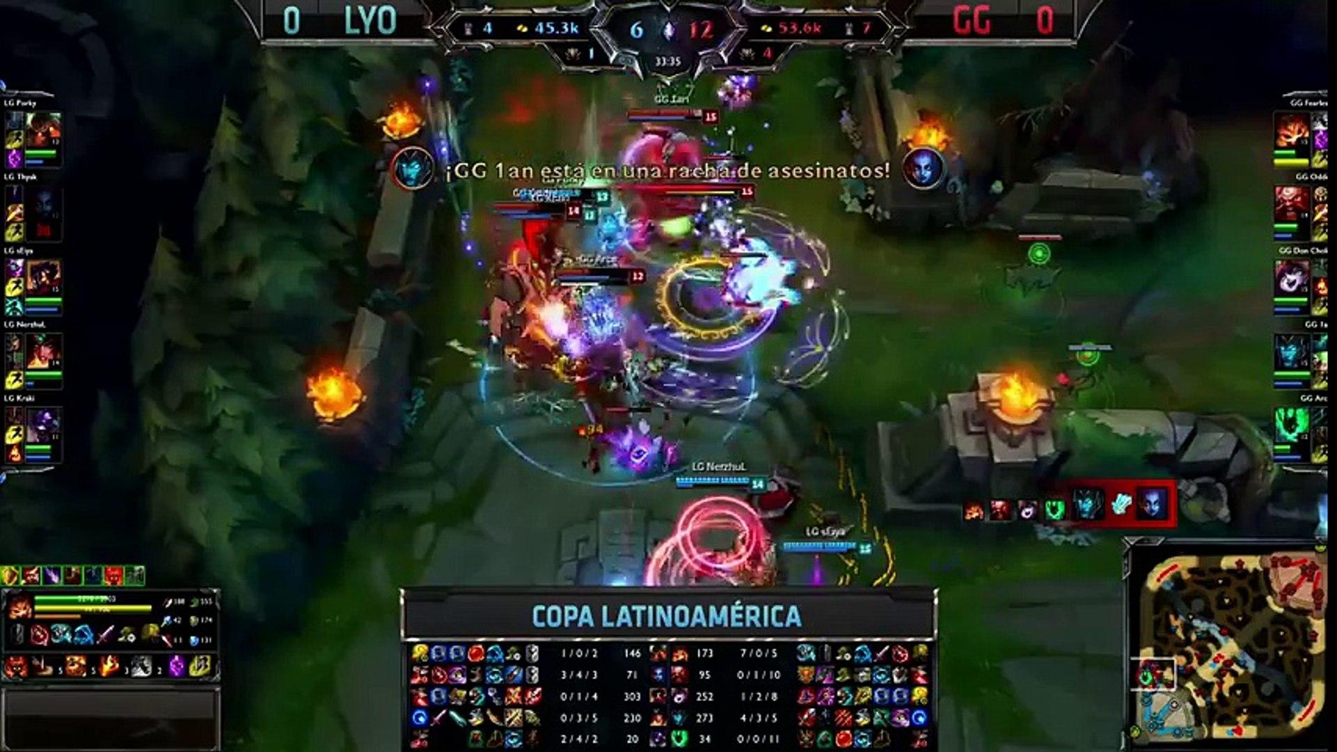Lyon Gaming vs Gaming Gaming - La Final 130