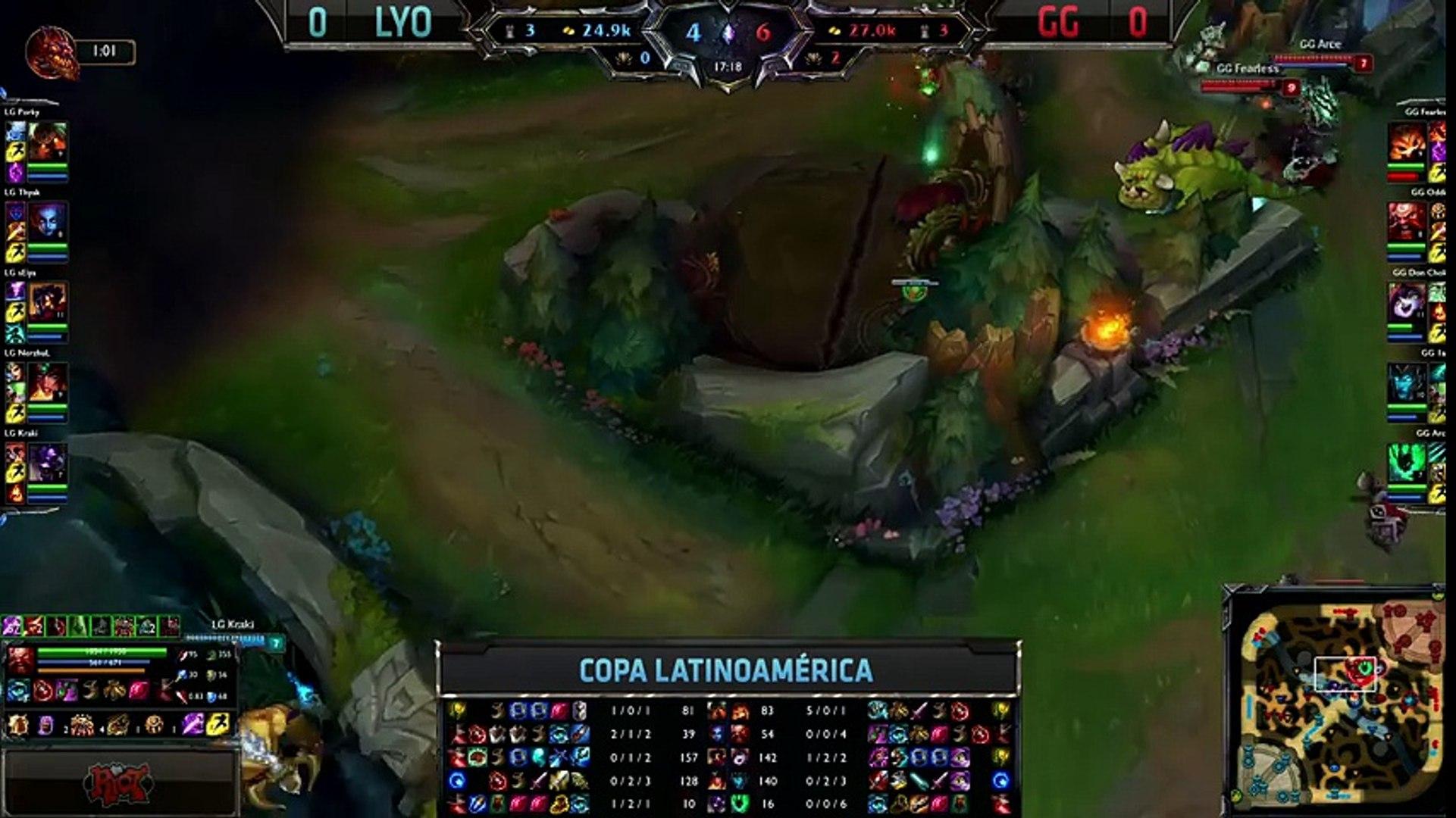 Lyon Gaming vs Gaming Gaming - La Final 146