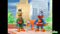 Sesame Street: Bert and Ernie are Superheroes (Bert and Ernies Great Adventures)