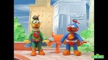 Sesame Street: Bert and Ernie are Superheroes (Bert and Ernies Great Adventures)