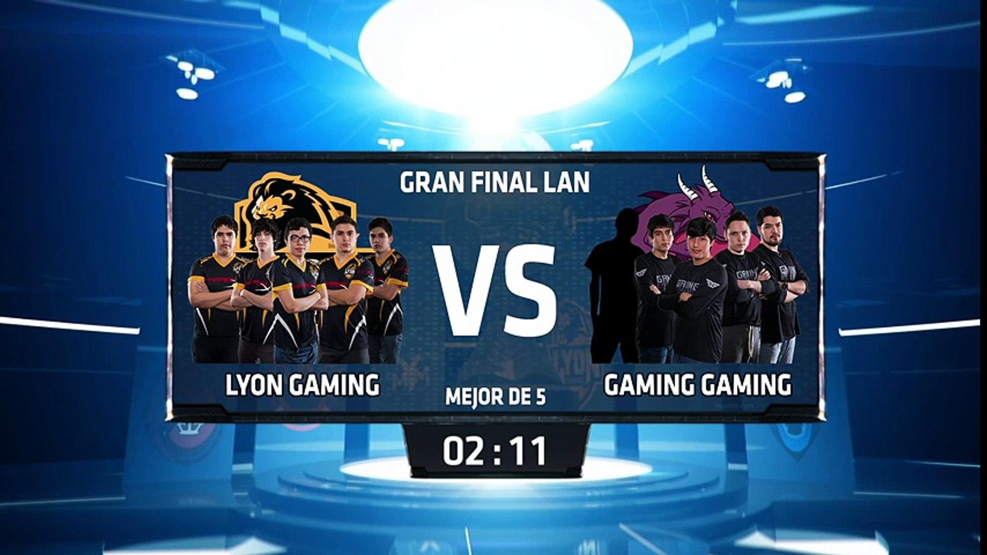 Lyon Gaming vs Gaming Gaming - La Final 185