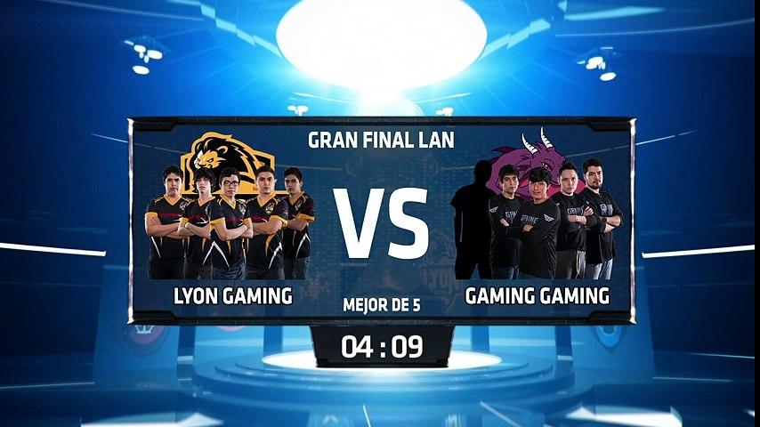 Lyon Gaming vs Gaming Gaming - La Final 187   Godialy.com