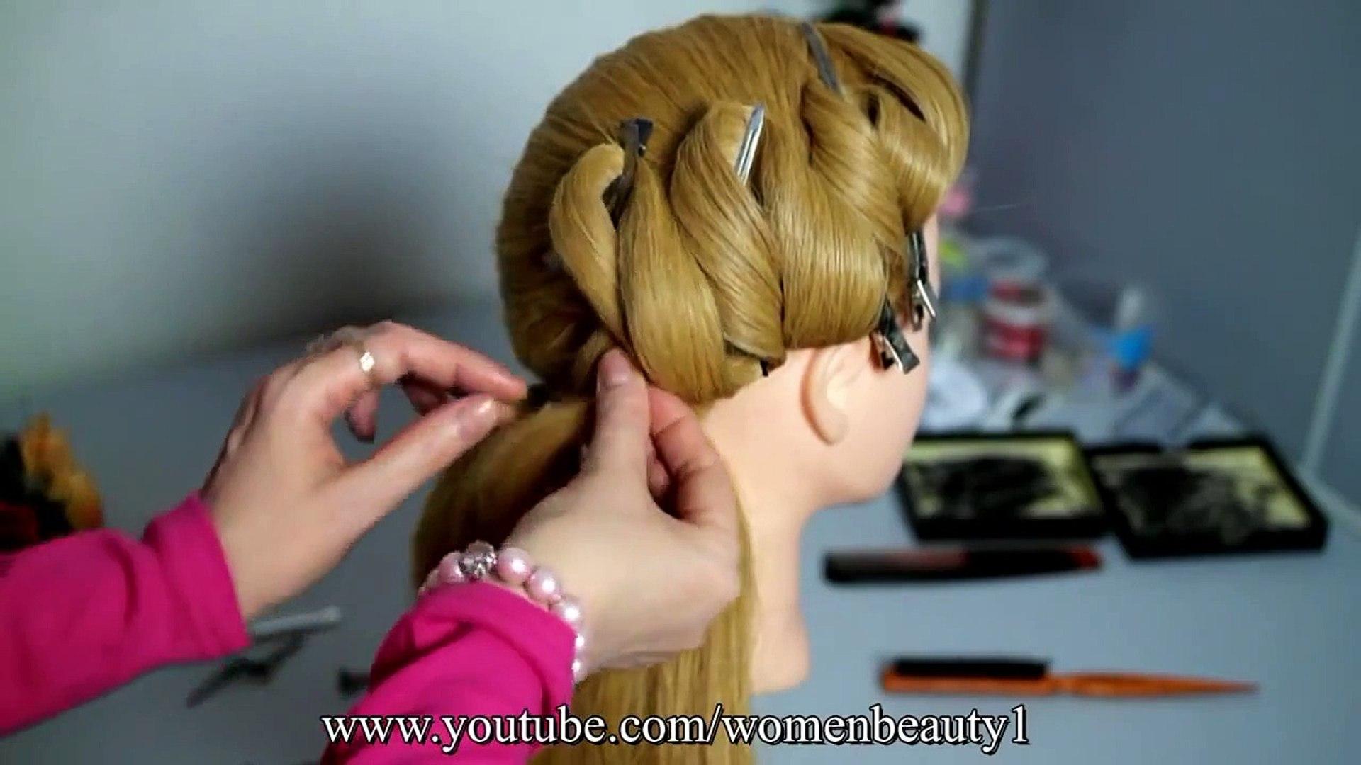 Easy Hairstyle Video DIY hair style ideas hair styles for long hair and medium long hair