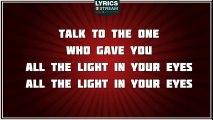 Light In Your Eyes - Sheryl Crow tribute - Lyrics
