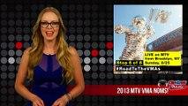 2013 MTV VMA NOMINATIONS: JUSTIN TIMBERLAKE, MACKLEMORE, MILEY CYRUS LEAD NOMINEES!