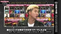 [Sub Español] 160312 BTS Interview 'RUN' Japanese Ver. 1/2