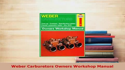 Weber Carburetors Resource | Learn About, Share and Discuss Weber