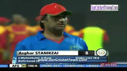 watch Afghanistan v Zimbabwe 5th ODI Full Highlights Part 4