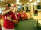 Liverpool Fans on Ferry- Crete to Athens, 2007