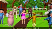 Old MacDonald Had A Farm - 3D Animation Animals Songs & Nursery Rhymes for Children - Hindi Urdu Famous Nursery Rhymes for kids-Ten best Nursery Rhymes-English Phonic Songs-ABC Songs For children-Animated Alphabet Poems for Kids-Baby HD cartoons-Best Lear